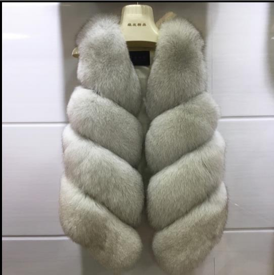 Taille Veste En Femmes Clobee Femme Chaud Fourrure 2019 Manteau Artificielle Q928 Gilet Gilets Vestes De Grande D'hiver Faux zVqSUMp