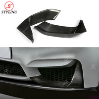 F80 M3 Dry Carbon front Splitter Trim Kit For BMW F82 F83 M4 Front Bumper Lip M Performance style 2014 2015 2016 2017 2018