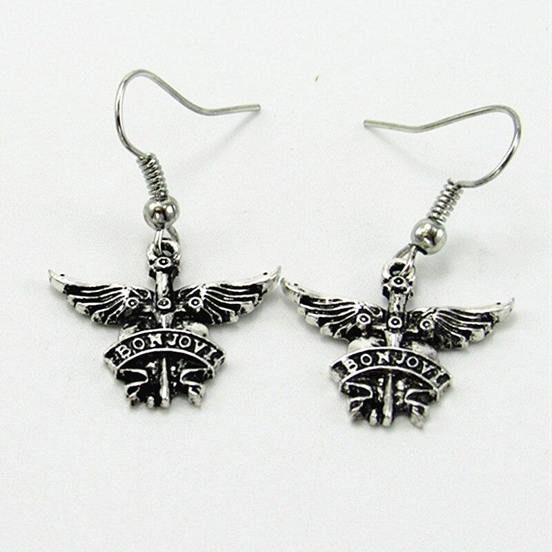 America Bon Jovi rockbånd halskæder vedhæng til mænd kvinder - Mode smykker - Foto 6