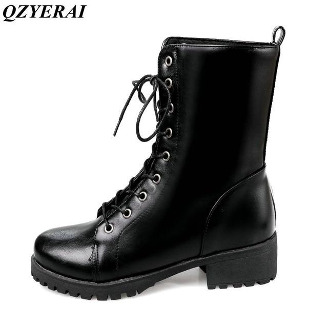 07ff19ab6eab QZYERAI 2018 nouveau dames de mode d hiver Martin bottes en peluche femmes chaussures  de