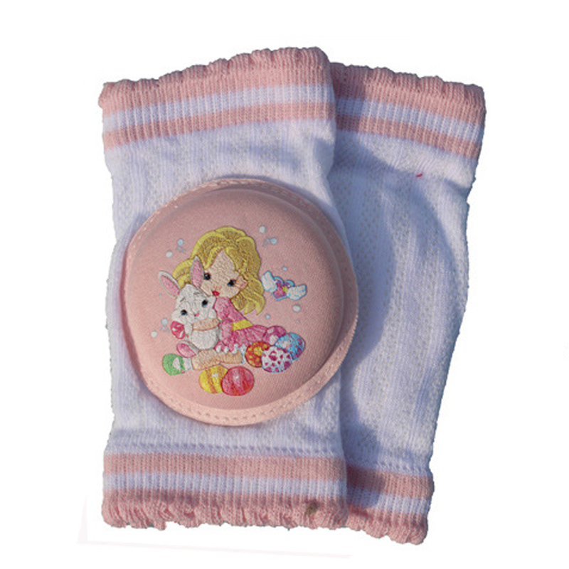 Top Quality Newborn Boys Girls Kneepad Cotton Soft Comfortable Children Knee Pads Baby Learn To Walk Best Protection