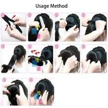 1Pcs Women Magic Foam Sponge Hairdisk Hair Device Donut Quick Messy Bun Updo Hair Clip Hair Accessories Hair fashion Tools