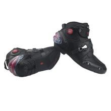 Мотоциклетные ботинки, водонепроницаемые, для гонок, для мужчин, мото, rbike, мото, кросс-ботинки, микрофибра, кожа, мото, rcycle, защитная обувь