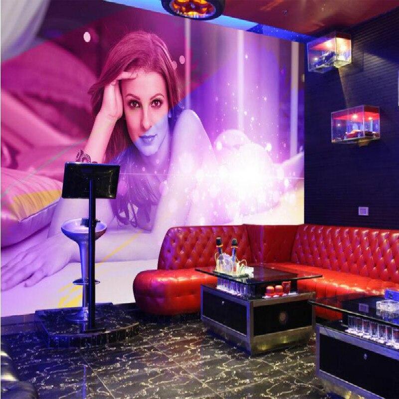 Customization backgrounds 3D wallpaper for walls 3d wallpaper murals photo moisture-proof for living room Europe sexy beauty