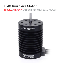 цена на Waterproof F540 3300KV 4370KV Brushless Motor for Traxxas Axial Redcat HSP 1/10 RC Truck Monster Buggy Off-road Car