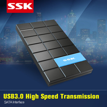 SSK SHE080 USB 3.0 2.5 SATA HDD Enclosure for 7/9.5mm 2.5 SATA HDD Up to 5.0 Gbps HD Box External HDD Case for Loptop OTB