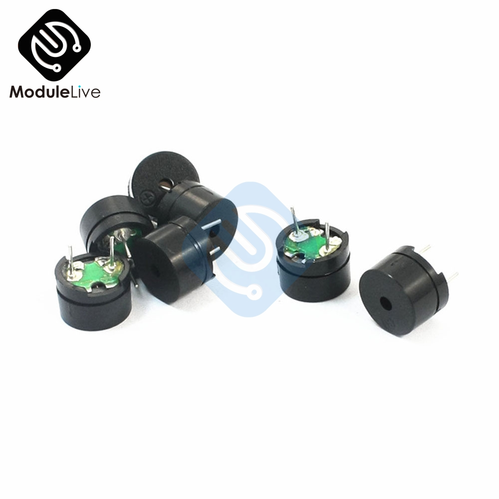 10Pcs 5V Passive Buzzer Acoustic Component MINI Alarm Speaker Passive Electronics DIY Kit For Arduino стоимость