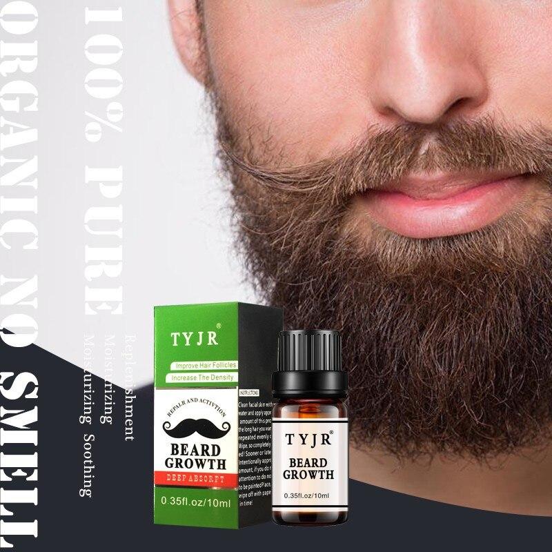 Facial Hair Grow Thick Beard Growth Serum Mustache Growth Liquid Fast Hair Growth Treatment