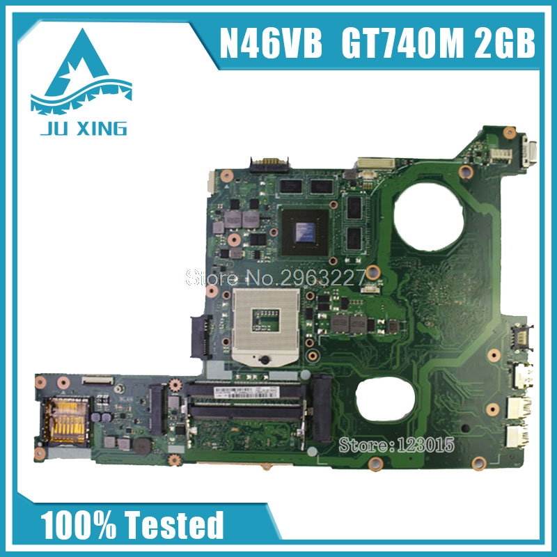 Original for ASUS N46VB GT740M with 2GB DDR3 VRAM motherboard Non-integrated fully test ok