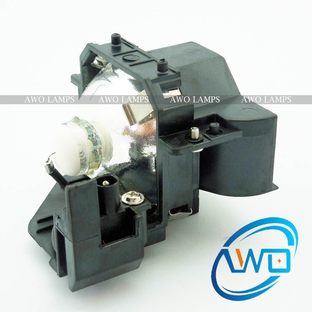 AWOs Ersatzprojektorlampe ELPLP33 / V13H010L33 für Projektor - Heim-Audio und Video - Foto 2