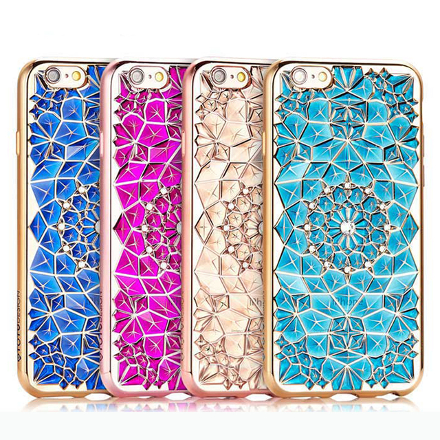Case iPhone diamenty różne kolory 6/6S, 6/6S plus