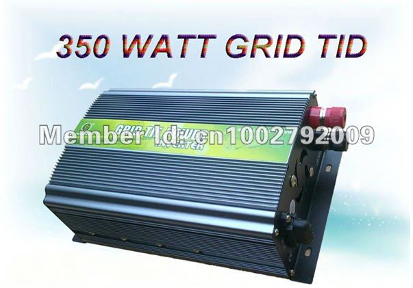 350w grid tie inverter for solar wind power 28v 52v dc. Black Bedroom Furniture Sets. Home Design Ideas