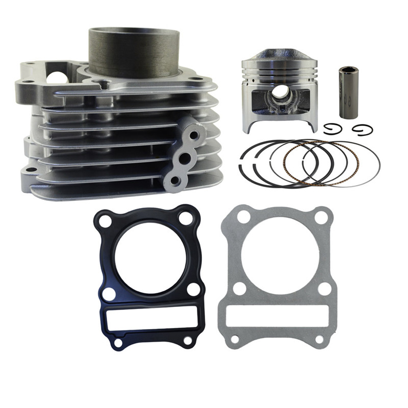Motorcycle Engine Parts Bore Size 57mm Cylinder For SUZUKI GS125 GS 125 Air Cylinder Block & Piston & Cylinder Head Gasket jiangdong engine parts for tractor the set of fuel pump repair kit for engine jd495