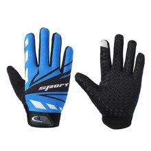 Cycling Gloves Touch Screen Windproof Full Finger Bike GlovesAnti-slip  Bicycle for Men Women