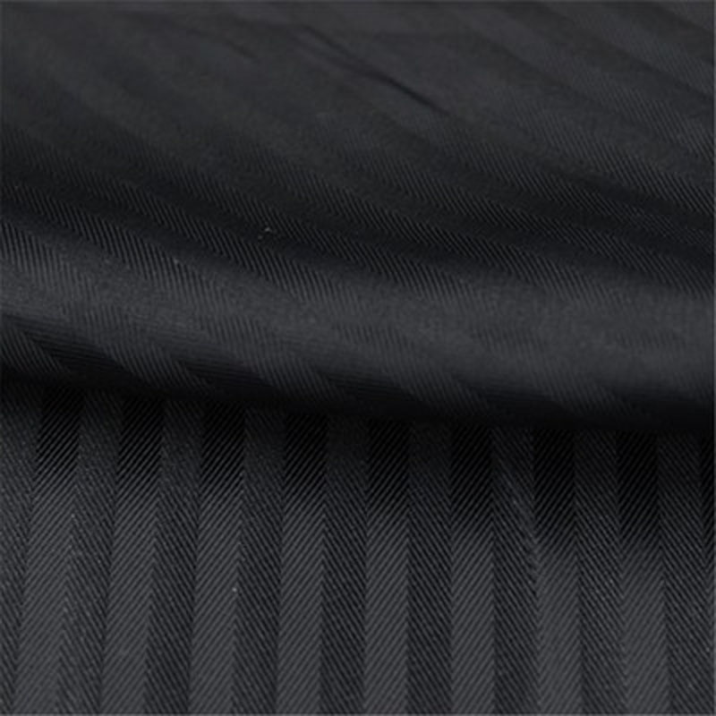 Pretty Black Stripe Jacquard Polyester Lining Fabric Jacquard Polyester Lining Fabric 48x140cm DIY Sewing Cloth Dress Lining Hom printed leather fabric fabric print picturesfabric sell - AliExpress