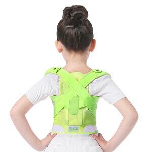 Image 4 - Children Kid Health Adjustable Magnetic Posture Corrector Back pain shoulder Support orthopedic corset Spine Support brace belt