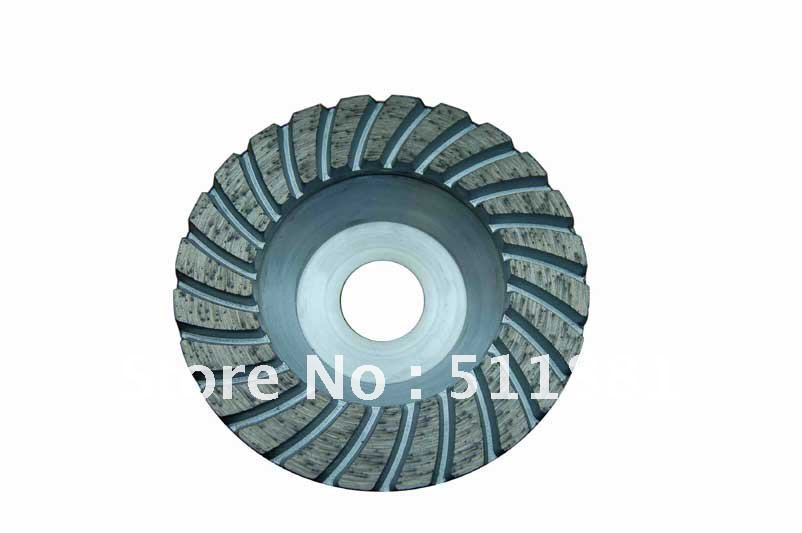 4'' Diamond single row grinding cup disks for UK FREE shipping | 100mm Concrete grinding CUP wheel | Aluminum matrix Turbo disc