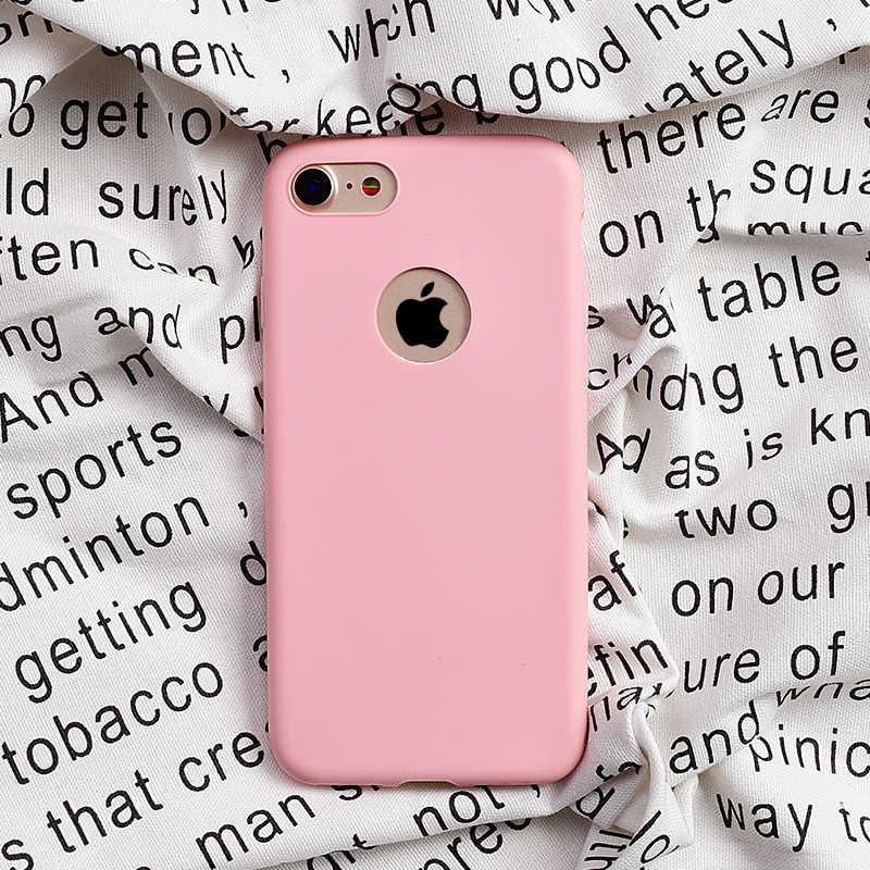 Soft สำหรับ iPhone 11 X XR XS PRO MAX สำหรับ iPhone 6 6 S 7 8 PLUS 5 5 S SE น่ารักซิลิโคน TPU Funda Coque