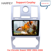 Harfey 9 inch OEM HD car radio for Chrysler Aspen 300C 2004 2008 autoradio Android 8.1 Car Stereo Bluetooth AUX support Carplay