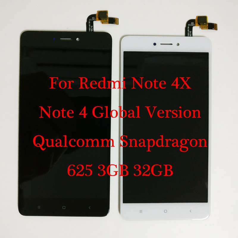 "5.5"" For Xiaomi redmi note 4X Qualcomm Snapdragon 625 3GB 32GB LCD Display + Touch Screen Digitizer Redmi note 4 Global Version - 32832844120,356_32832844120,7.59,aliexpress.com,5.5-For-Xiaomi-redmi-note-4X-Qualcomm-Snapdragon-625-3GB-32GB-LCD-Display-Touch-Screen-Digitizer-Redmi-note-4-Global-Version-356_32832844120,5.5"" For Xiaomi redmi note 4X Qualcomm Snapdragon 625 3GB 32GB LCD"