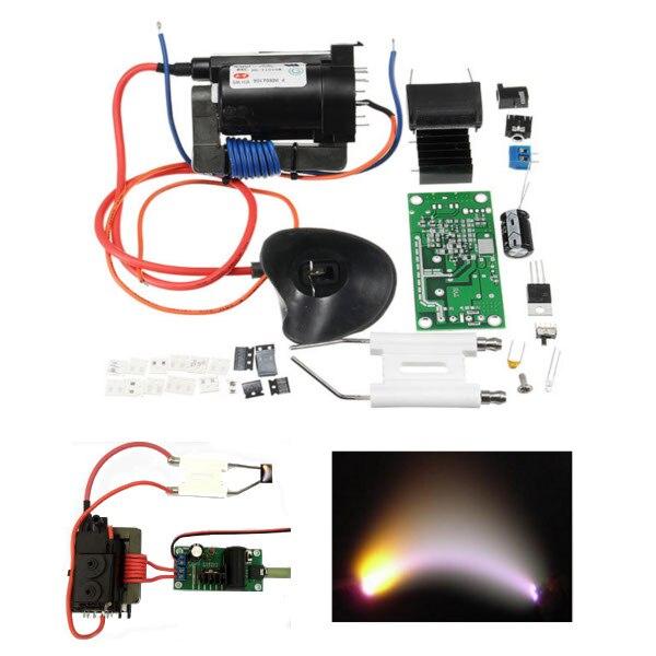 DIY Kit 20KV ZVS Tesla Coil Booster High Voltage Generator Plasma Music Arc Speaker Module small music tesla coils plasma speakers wireless lighting ion windmills electronic toys gifts
