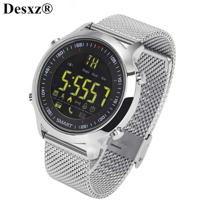 Bluetooth Smart Watch Sport Waterprooaf pedometers Message Reminder Outdoor swimming smartwatch for ios Android phone men EX18