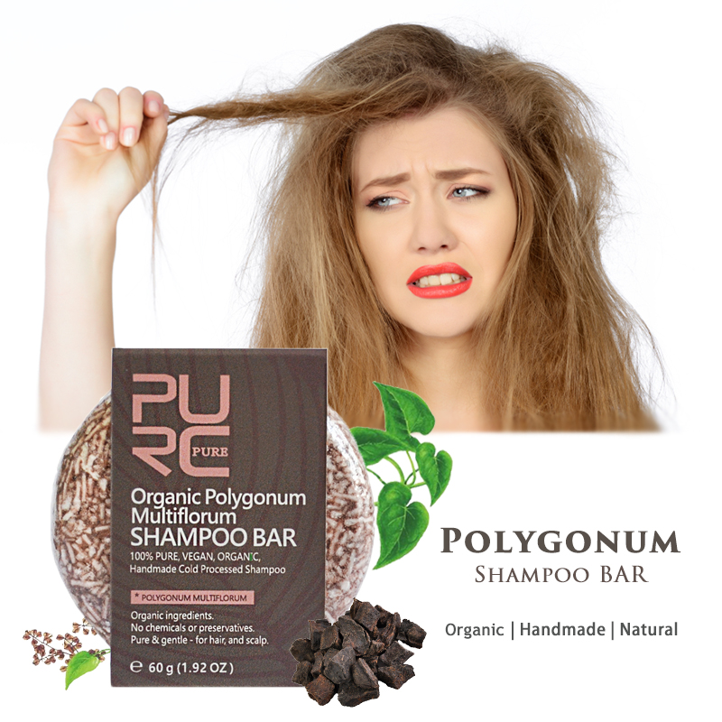 Polygonum Shampoo Bar Anti White Hair Treatment Of Moisturizing Hair Loss Hair Care Multiflorum Shampoo Soap