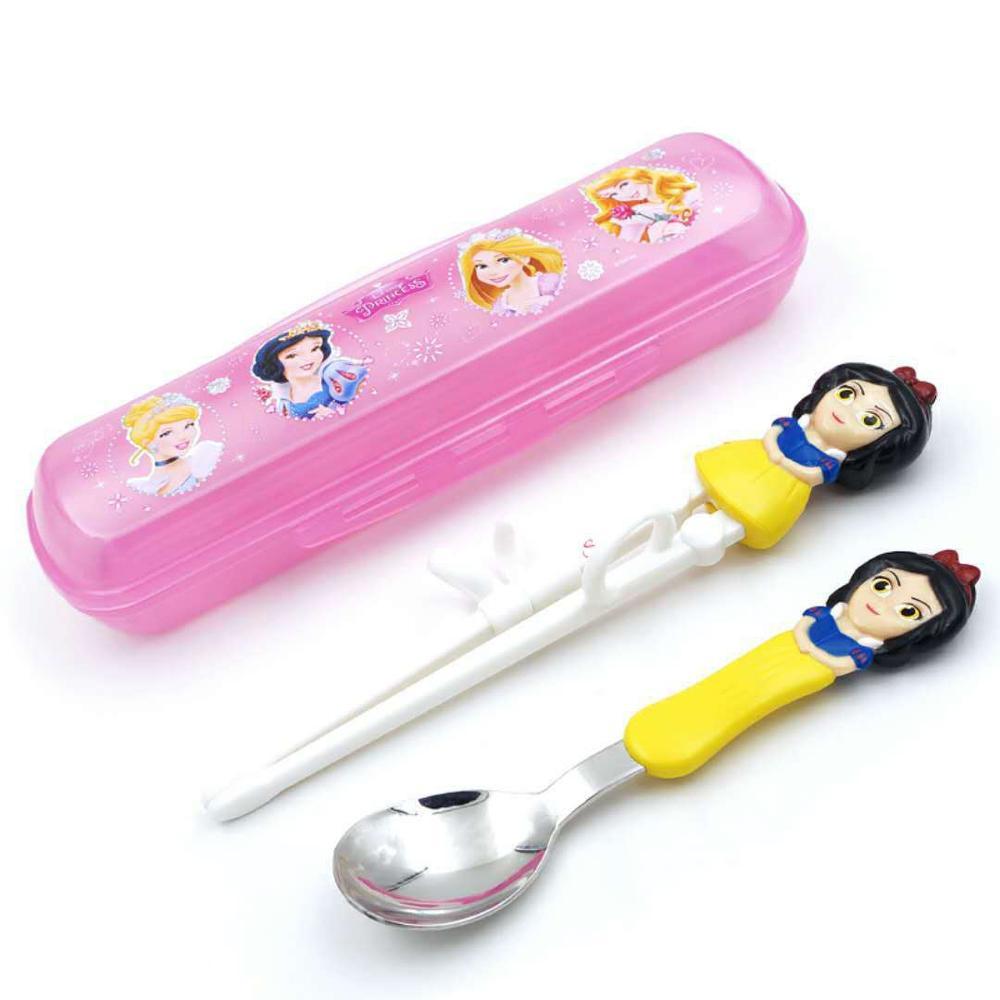 Disney детские палочки для еды мультфильм моделирование учебные палочки для еды обучения палочки для еды Детские вспомогательные палочки для еды коррекция посуда - Цвет: Color4