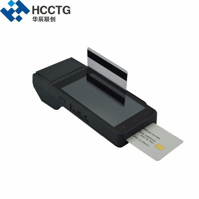 Hcc Z90 Credit Card Terminals Mobile Printer 3g Pos Machine Bar Code Scanning