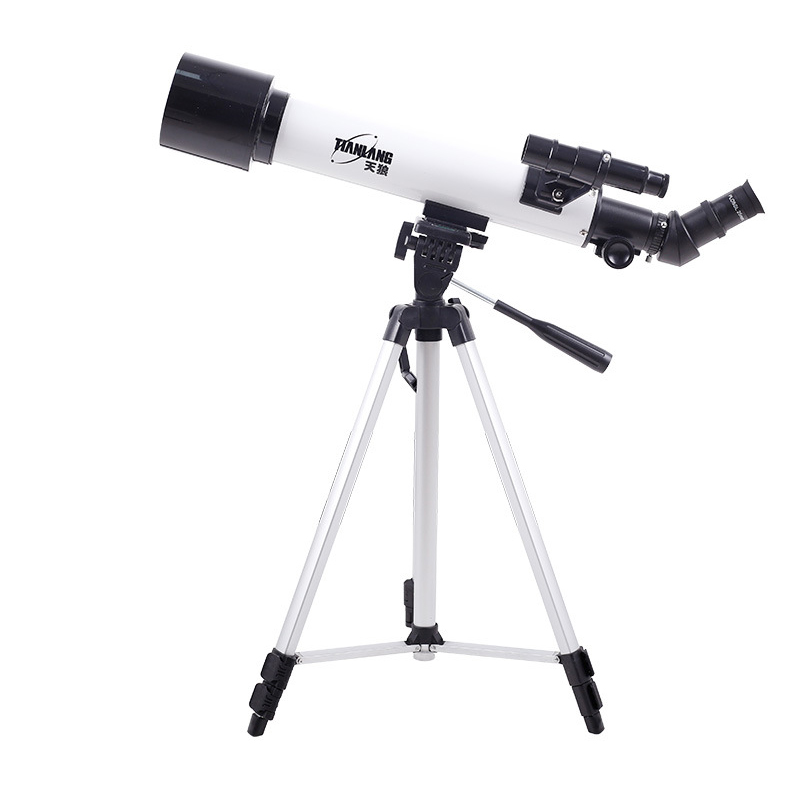 лучшая цена HD Large Aperture 60mm Refractor Astronomical Telescope 250 Times with 5x24 Finder Scope Refractive Scope Space Observation Tool