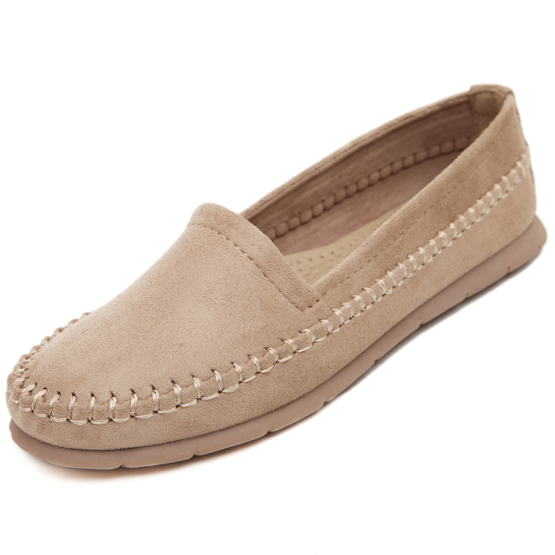 New Women Espadrilles Classic Slip On Flat Round Toe Deck Shoes Loafers Sneakers