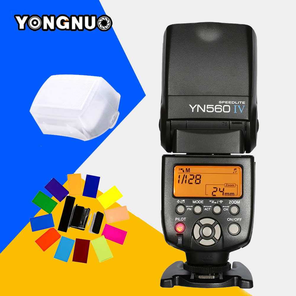 Yongnuo YN-560 IV YN560IV YN560 IV Universal Wireless Flash Speedlite For Canon Nikon Pentax Olympus Fujifilm Panasonic Sony A99 yongnuo yn560iv yn560 iv speedlite yn560 iv yn 560iv for canon nikon pentax universal dslr camera wireless flash speedlight