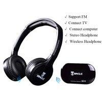 100 High Quality Bingle B616 Computer TV Earphone Multifunction Wireless Headset Headphone With FM Radio For