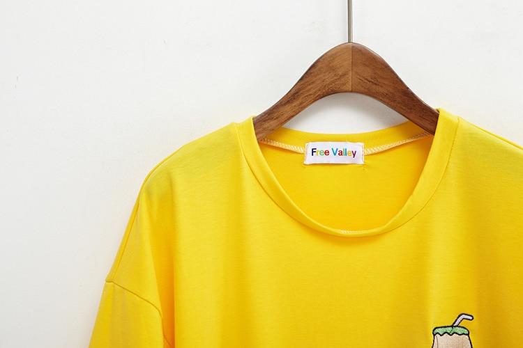 HTB1zokzKFXXXXcDXVXXq6xXFXXXy - Summer New Cute Banana Milk Embroidered T-shirts PTC 192