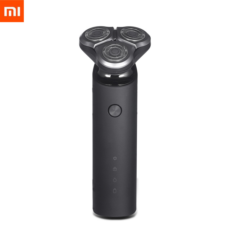 New 2019 Xiaomi Mijia Electric Shaver Razor for Men Head 3 Dry Wet Shaving Machine Washable