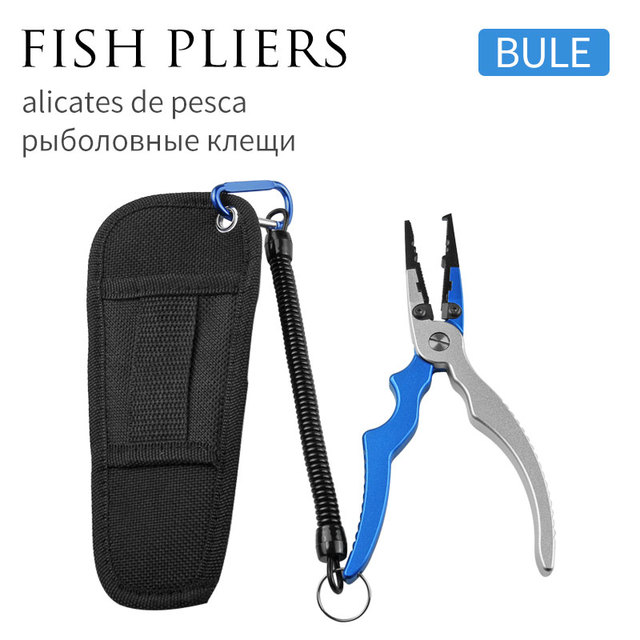Fishing Stainless Steel Pliers Gripper Hook Recover