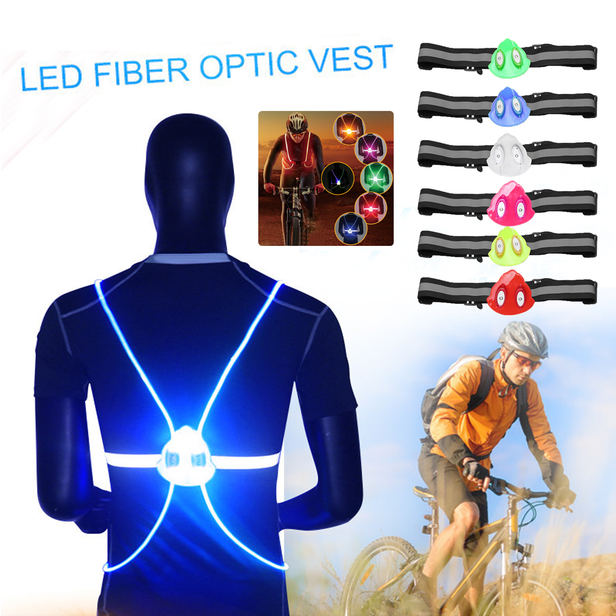 Buy vest reflective belt safety and get free shipping on AliExpress.com 55318e3b3