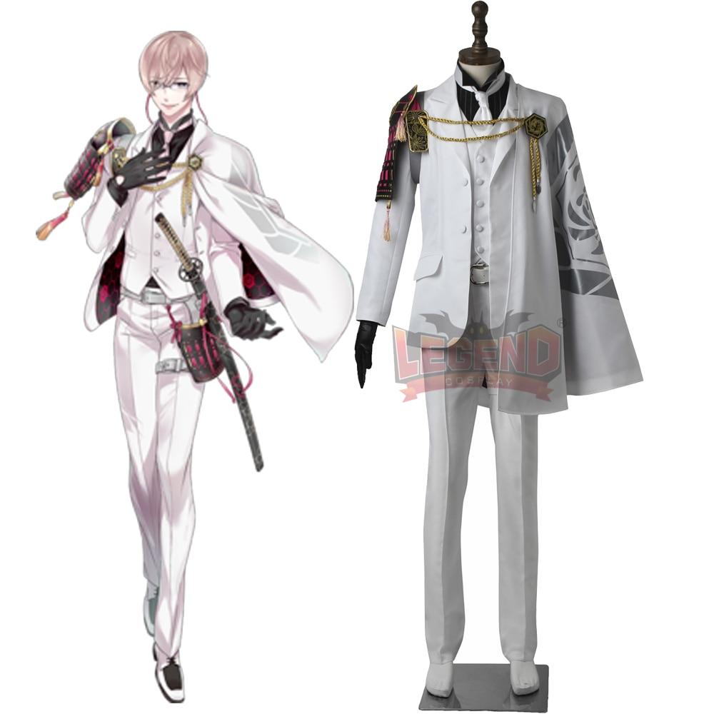 Cosplay legend  Touken Ranbu Online Kikkousadamune Cosplay adult costume full set all size custom made