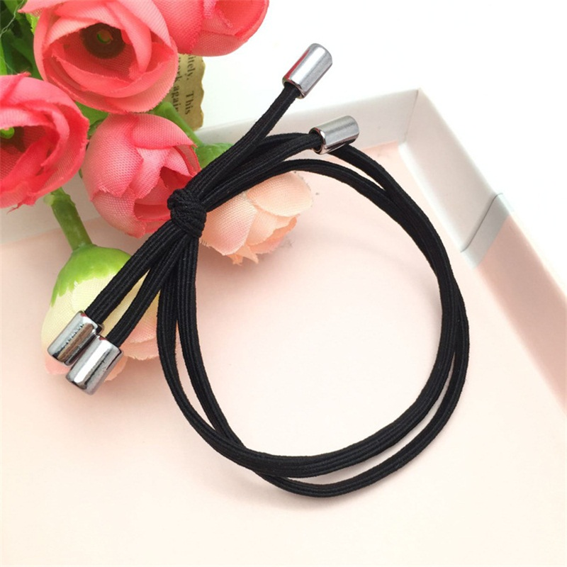 1PCS Double rope bow Hair Accessories For Women Headband,Elastic Band For Hair For Girls,Hair Band Hair Ornaments For Kids hot sale hair accessories headband styling tools acessorios hair band hair ring wholesale hair rope