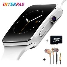 Interpad E6 Smart Watch On Wrist Bluetooth Android Smartwatch For Samsung Huawei Sony Xiaomi Sim TF Card Sleep Tracker PK X6