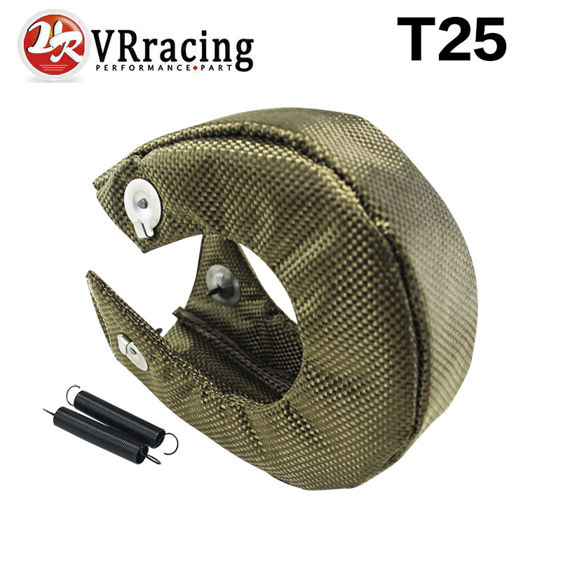 VR RACING - T25/T28 GT25 GT28 GT30 GT35 TURBO/TURBOCHARGER 100% FULL TITANIUM HEAT SHIELD/WRAP BLANKET VR1302-2T