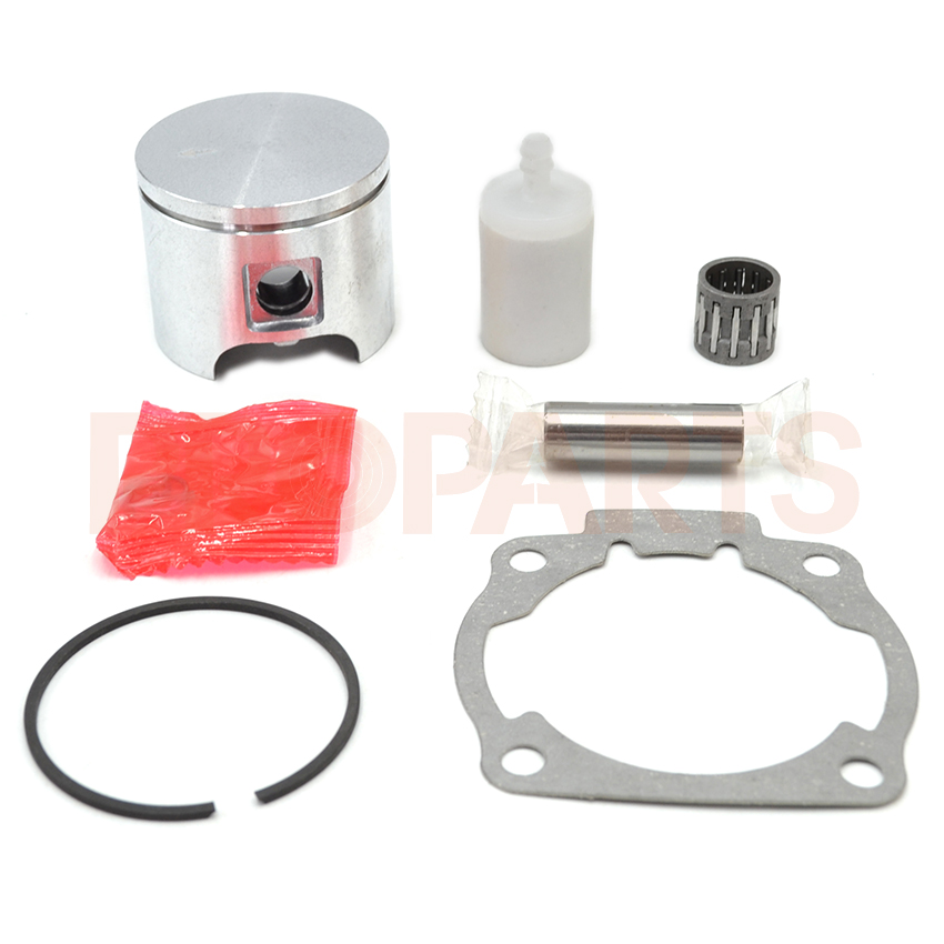 46mm Piston Set Fuel Filter Needle Bearing Gasket Kit For Husqvarna 55 Chainsaw Parts piston