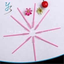 Eyelash Cọ One Off Dùng Một Lần Hồng Mỹ Phẩm 2000 cái Nylon Mascara Applicator Wand Brush Công Cụ Trang Điểm