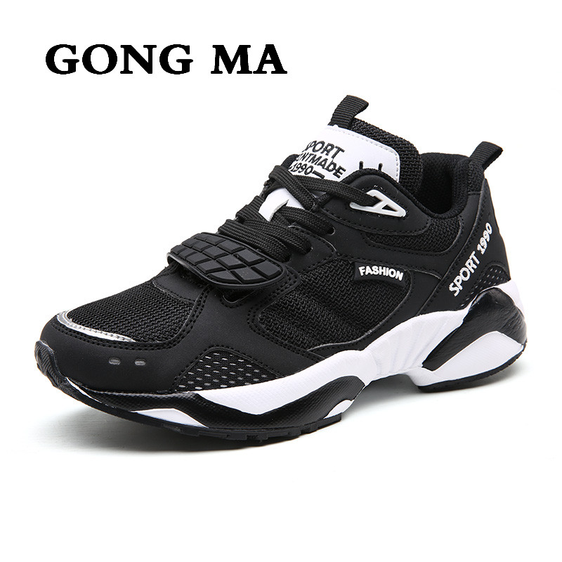 ФОТО GONG MA 2017 new women shoes wide foot wear slip treadmills students light breathable comfortable leisure female fitness shoes