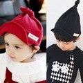 Новое поступление 2015 осень зима дети шляпы мода корейский стиль дети бейсбол мальчик шляпа красный черный девушки крышки мальчиков шляпы