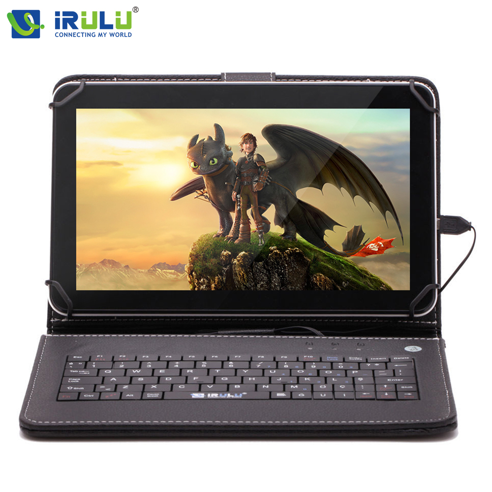 ФОТО Original iRULU eXpro X1Pro 9'' Tablet PC Android 4.4 Quad Core Dual 8G ROM Dual Camerals WiFi Games with English Keyboard Case