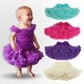 Niñas Faldas Jupe de Tul Mullido Pettiskirts Hilados Falda Del Tutú de La Princesa Faldas Mini Falda Del Bebé Recién Nacido Niños Infantil Giyim Bebek