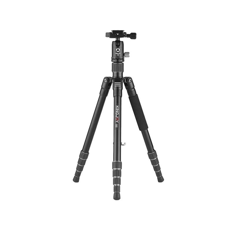 Kingjoy G22 + G00 Portable caméra trépied monopode voyage avec 360 degrés rotule pour Canon Sony Nikon Dslr Ildc appareils photo