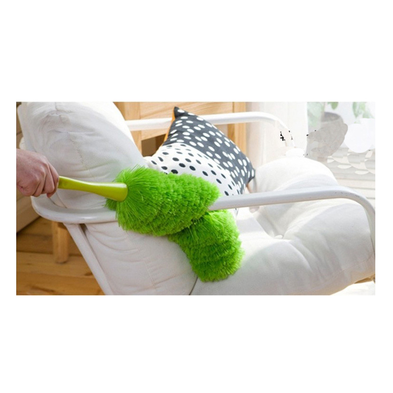 Adjustable Bendable Microfiber Duster Static Suction Dusting Brush Clean Up Table Car Dust Anti Static House Cleaning Tool in Dusters from Home Garden