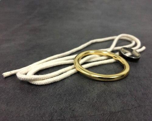 Кольцо на веревке от Bazar de Magia Tricks сценический магический реквизит трюк